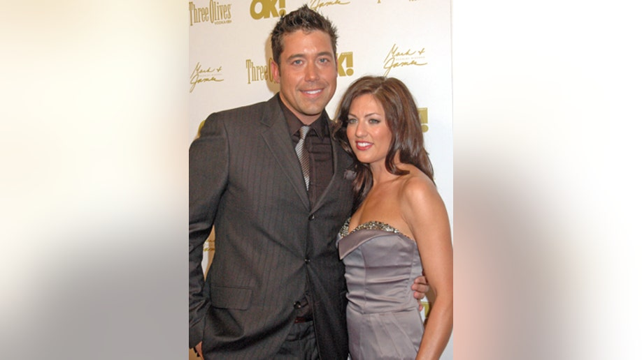 Jillian Harris and Ed Swiderskinat the OK Magazine Pre-Oscar Party, Beso, Hollywood, CA. 03-05-10/ImageCollect