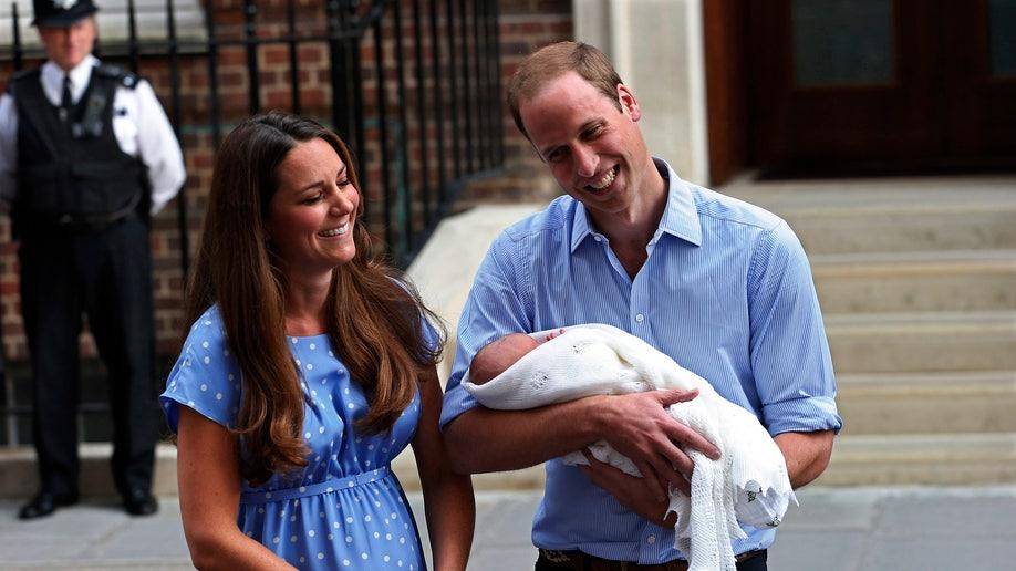 BRITAIN-ROYAL/BABY