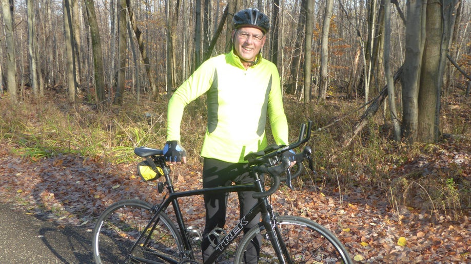 ken felix with bike
