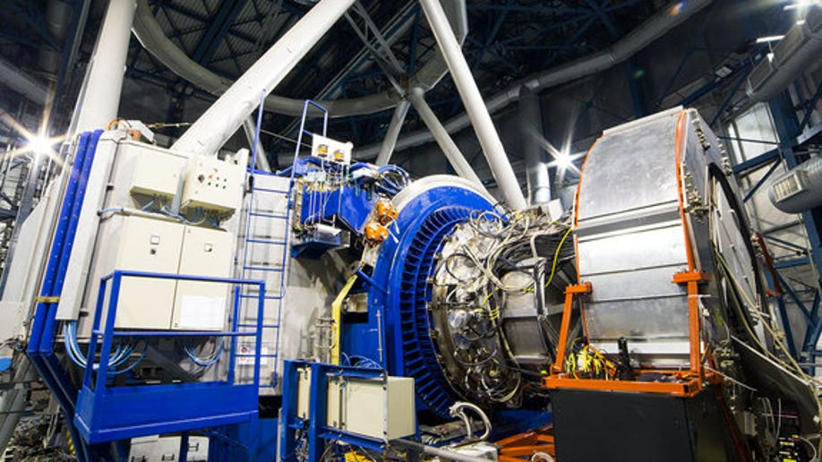 KMOS on the Very Large Telescope at the time of first light