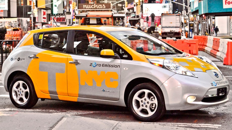 Nissan Leaf joins NYC Taxi fleet | Fox News