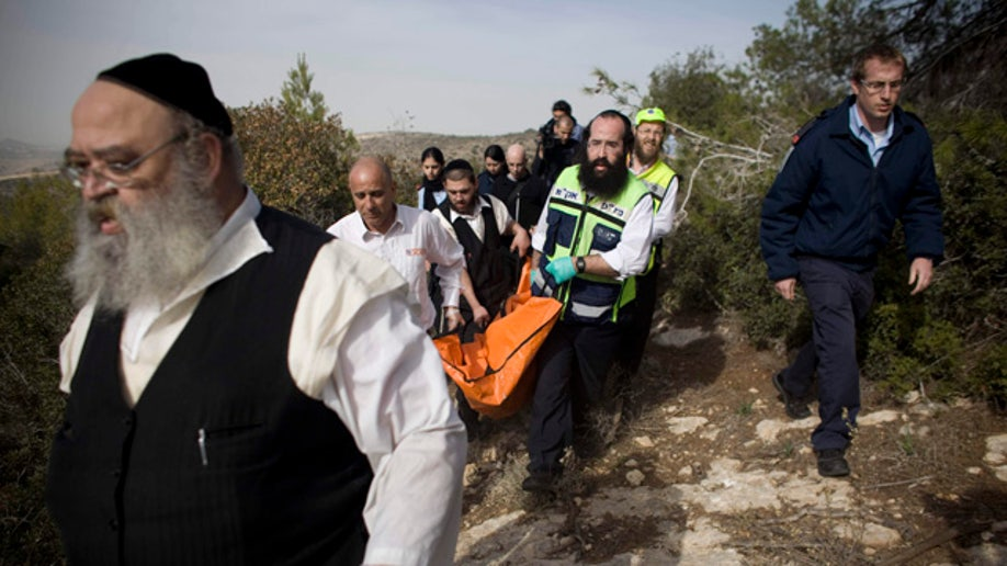 CORRECTION Mideast Israel Palestinians Tourist Killed