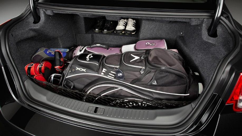 2013 Chevrolet Malibu Eco Trunk
