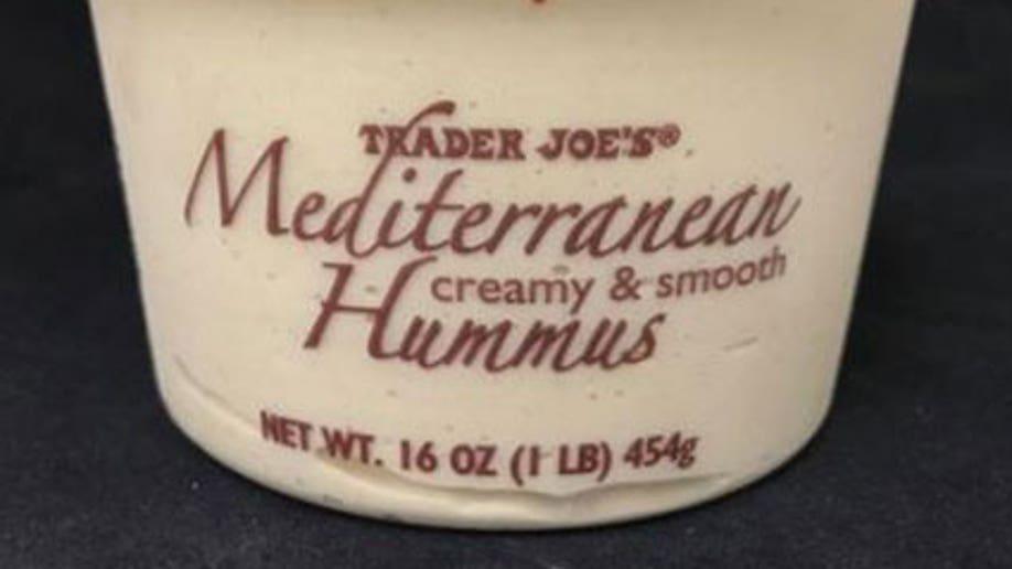 mediterranean creamy and smooth hummus recall trader joes 12.1