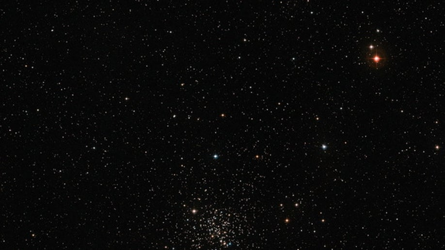 Wide-field view of the open star cluster Messier 67