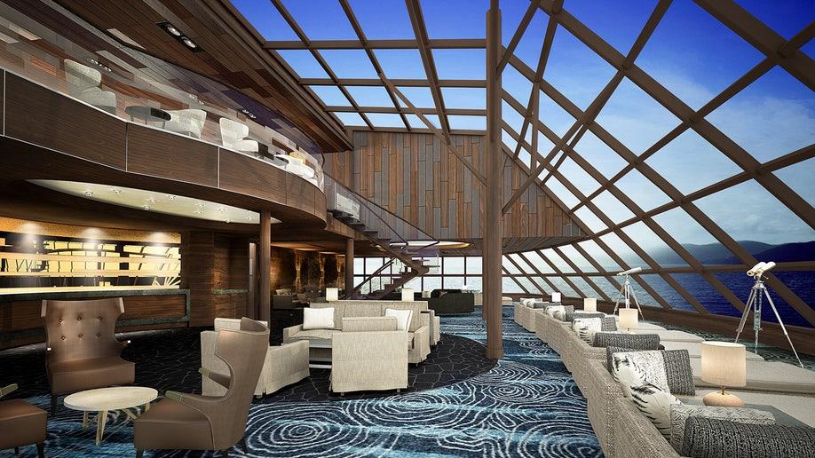 Norwegian Bliss Haven Observation Lounge