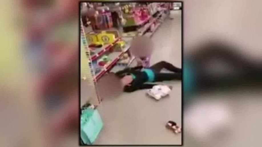 overdose viral video toy aisle