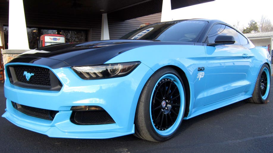 Richard Petty Ford Mustang Goes On