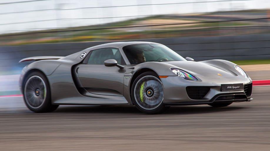 845 000 Porsche Supercar Catches Fire At Gas Station Fox News