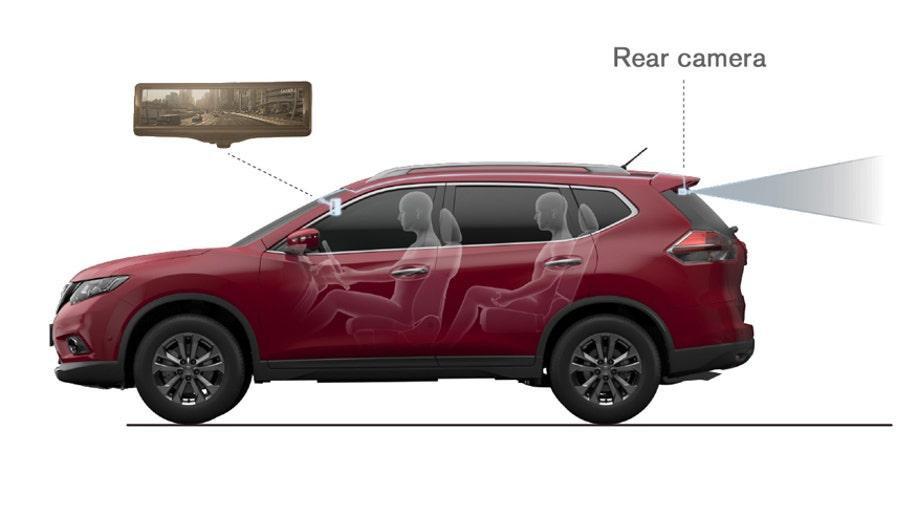 9f5343fb-Nissan Motor develops the Smart rearview mirror