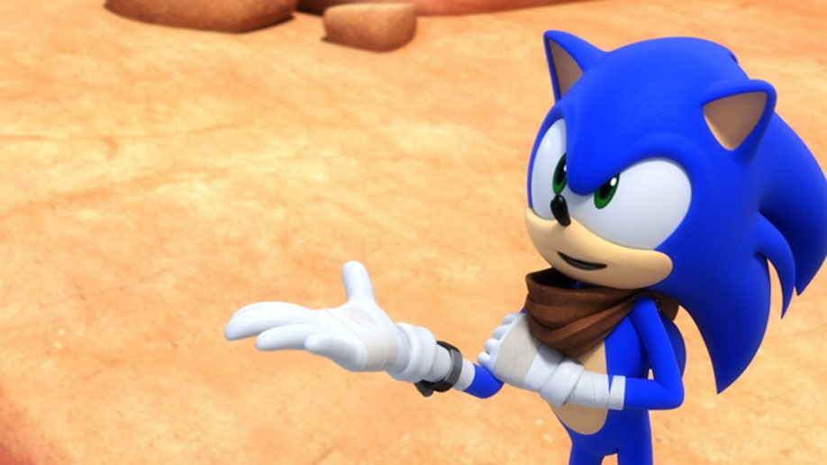 Sonic The Hedgehog Undergoes Makeover For New Game Tv Series Fox News