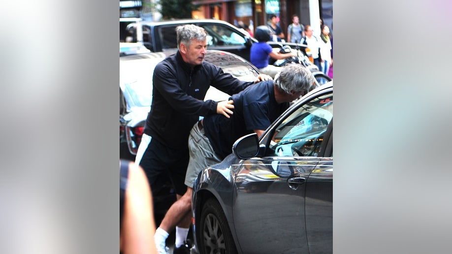 Alec Baldwin gets into an altercation with a photographer in NYC