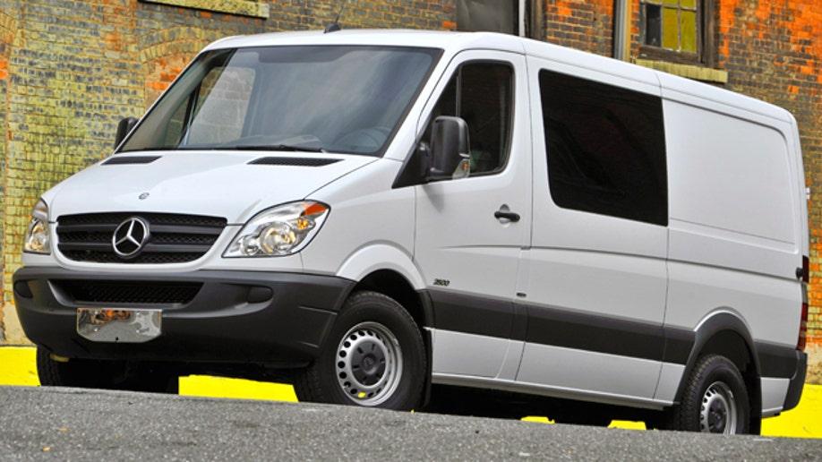 2011 Mercedes-Benz Sprinter Crew Van