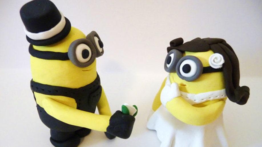 Wacky wedding cake toppers | Fox News