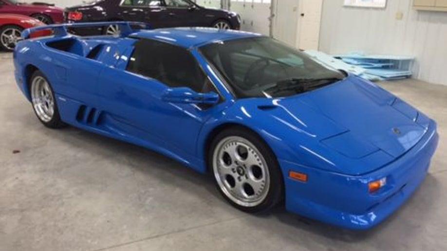 Donald Trump S Old Lamborghini For Sale Fox News