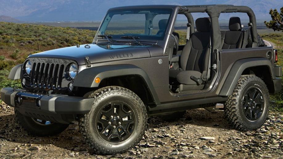 3dcf7414-2014 Jeep Wrangler Willys Wheeler Edition