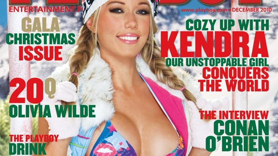 Kendra Wilkinson's First Solo Playboy Cover