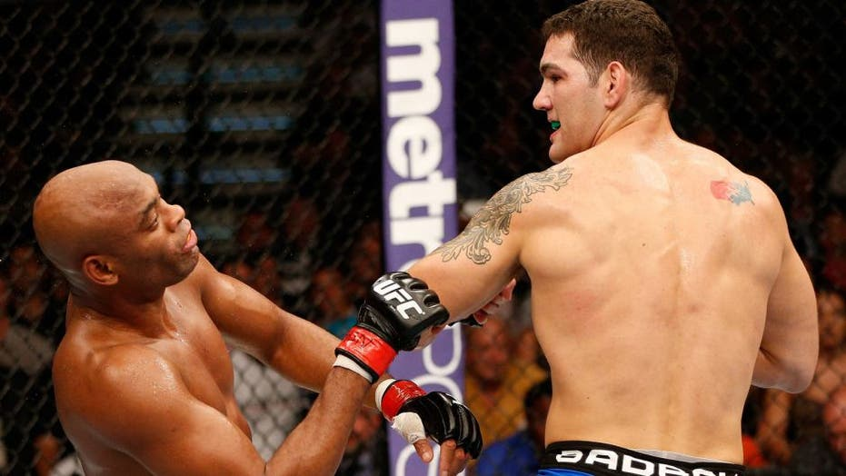 UFC's Chris Weidman fires back at critics who say he celebrated Anderson Silva leg-snap injury