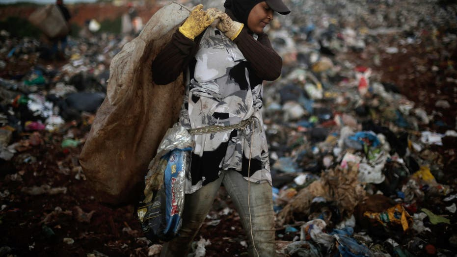 Trash pickers in Brazil worry about end of dump