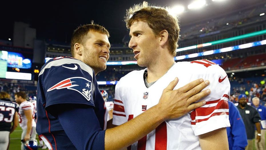 Eli Manning's perfect one-word response to Tom Brady's Super Bowl regret