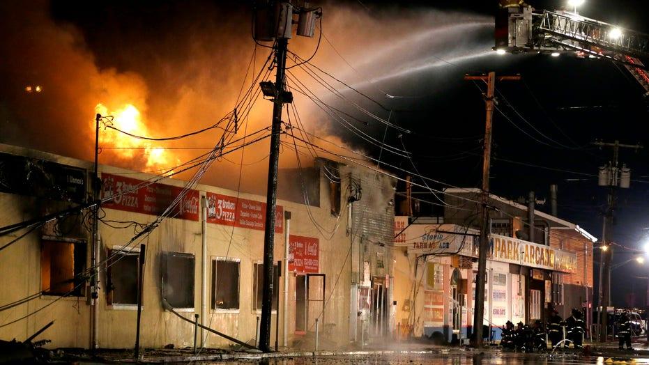 Fire Engulfs Iconic New Jersey Boardwalk