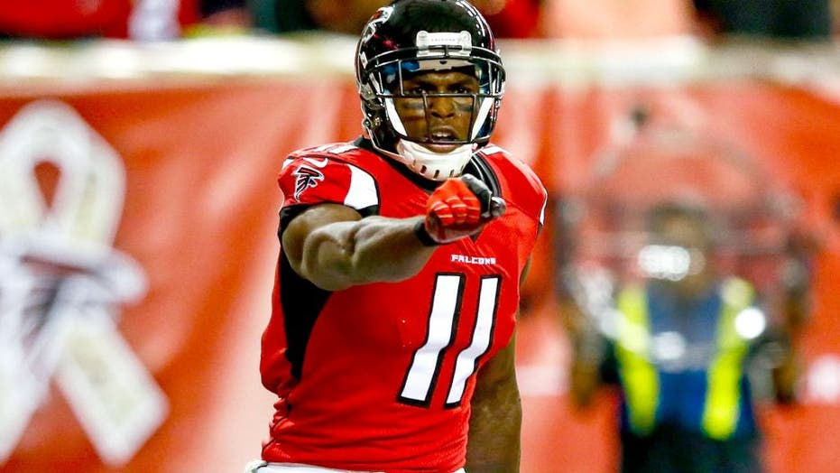 Julio Jones says he's 'out' of Atlanta during call with Shannon Sharpe on live TV