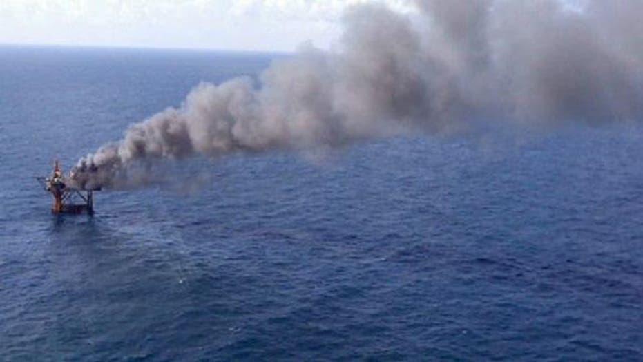 Gulf of Mexico Platform Explosion