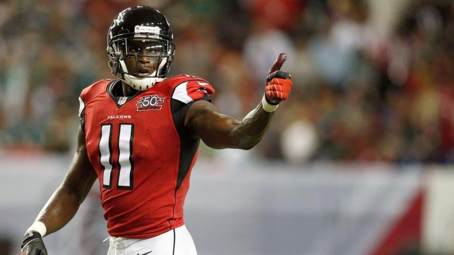 Titans acquire Julio Jones from Falcons in blockbuster trade: report