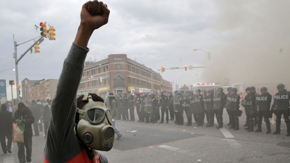 Baltimore riots leave Charm City in shambles