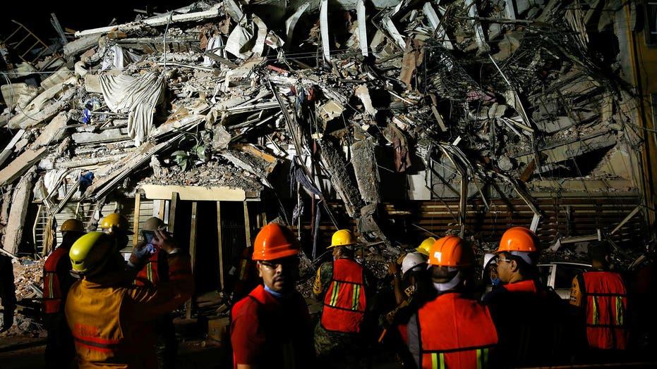 Photos: 7.1 magnitude earthquake kills more than 200 in Mexico