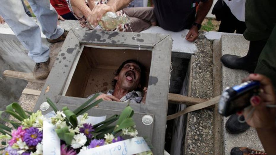Cuban Village's 'Burial of Pachencho' Marks End Of Carnival Season