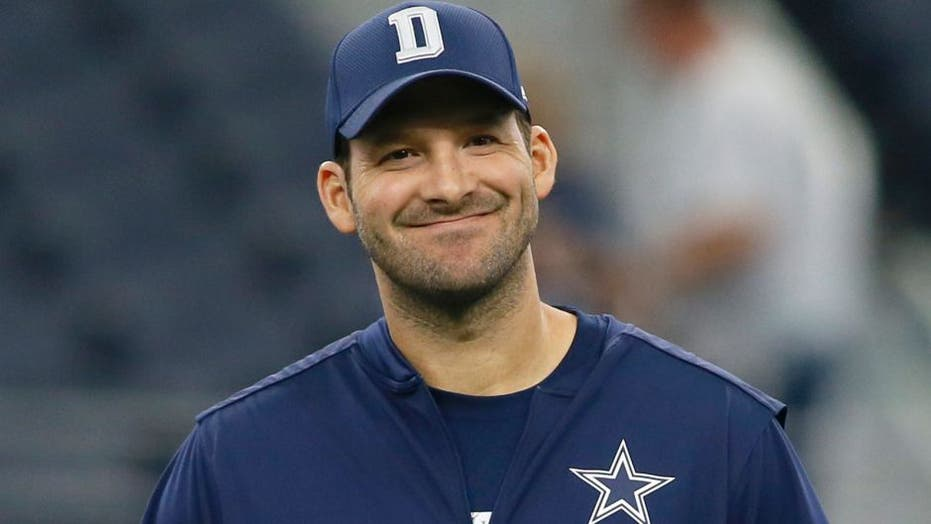 Jerry Jones continues his love affair with Tony Romo, says he should be in Hall of Fame