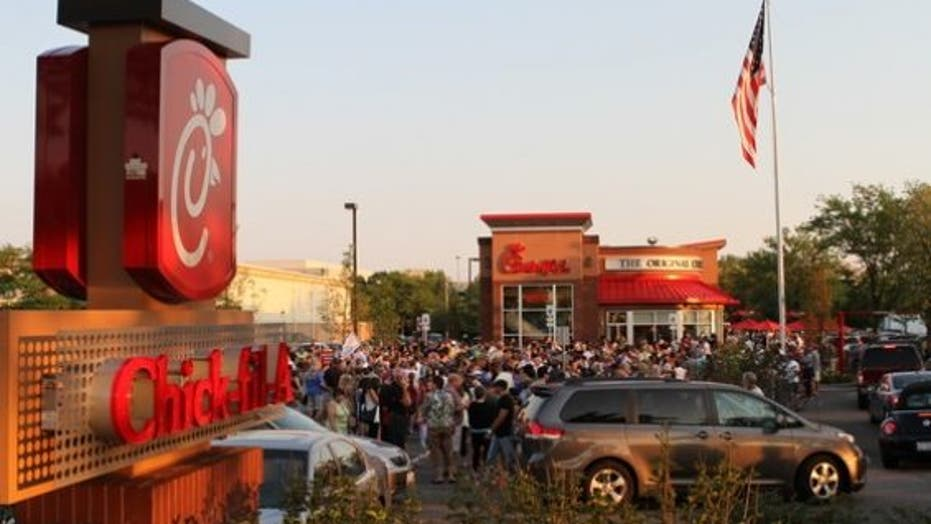 Chick-fil-A Appreciation Day Across the US