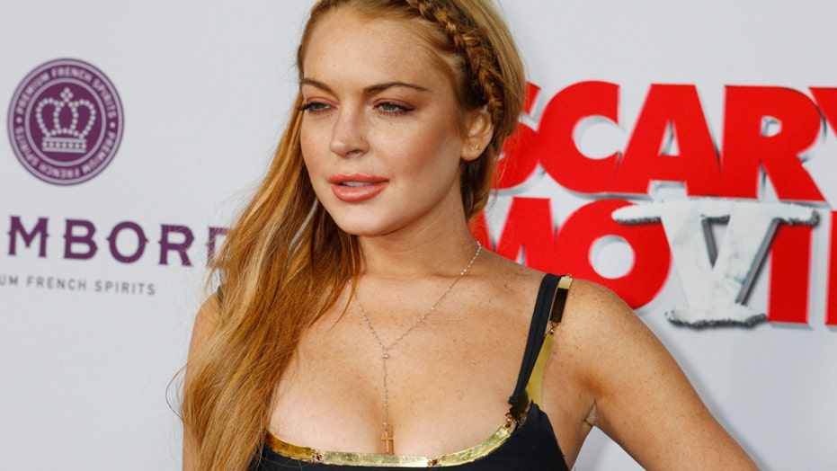 The troubled and talented Lindsay Lohan