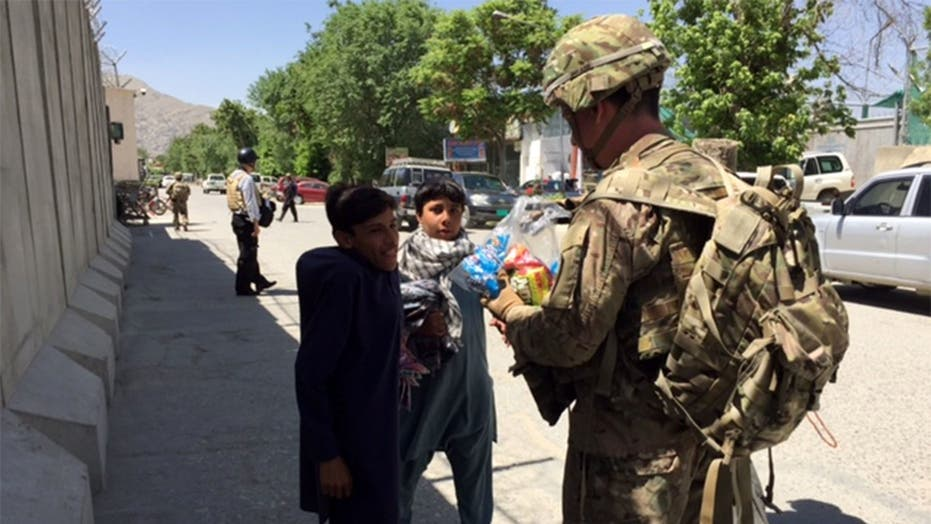 A day in the life of an American service member in Kabul