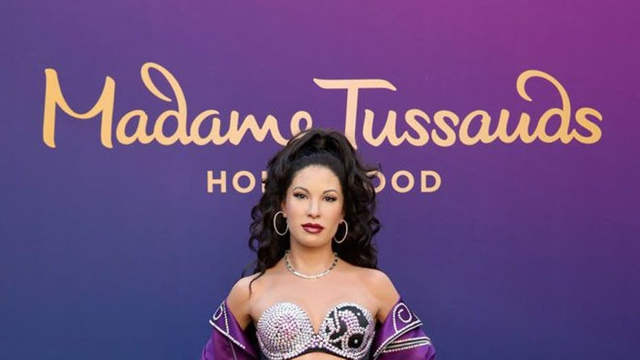 Selena wax figure unveiled at Madame Tussauds in Hollywood