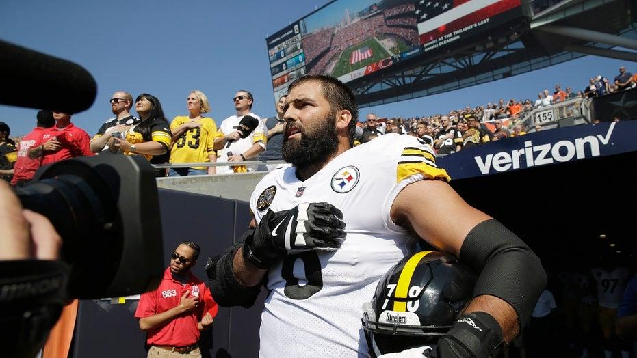 Ex-NFL lineman hopes people defend Steelers' Alejandro Villanueva after stir over helmet decal