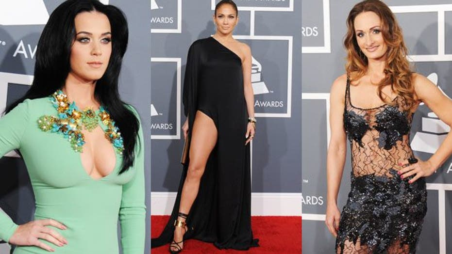 Grammy Looks: Nude, or subdued?