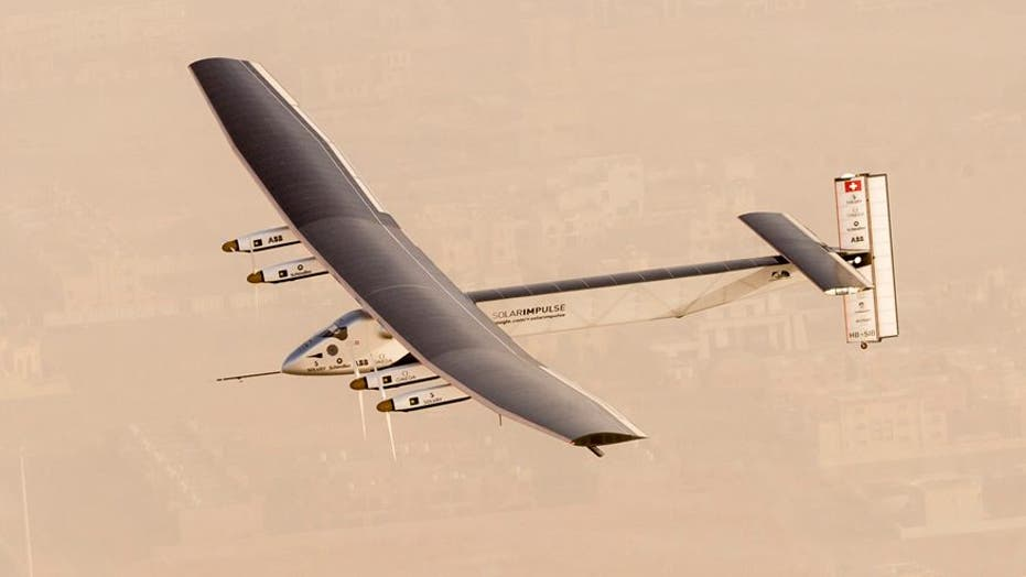 Solar Impulse 2's epic journey in pictures