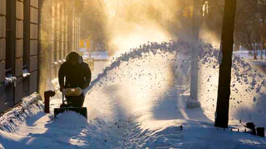 Massive winter storm cripples much of U.S. East Coast