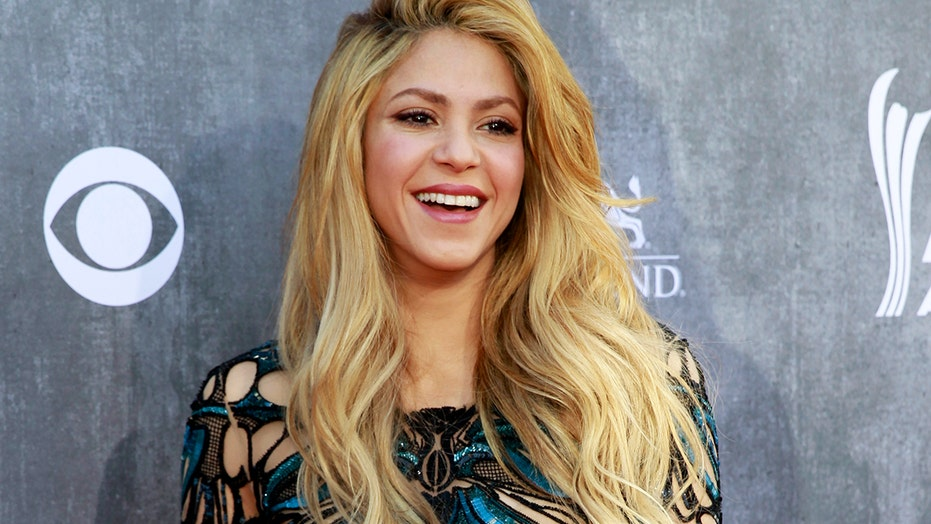 Shakira wows in purple bikini she designed herself