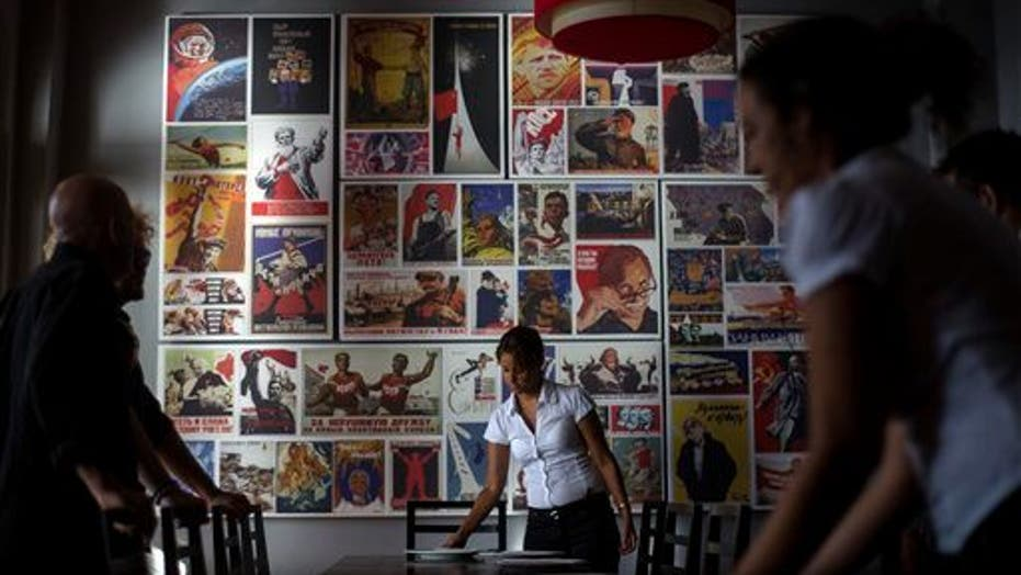 Cuban Restaurant Is A Nod To Soviet Era