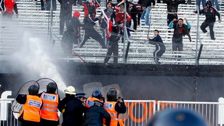 Argentine Soccer Fans Riot Over Demotion of River Plate Club