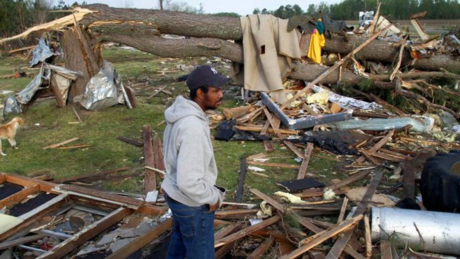 Deadly Storms Ravage Deep South