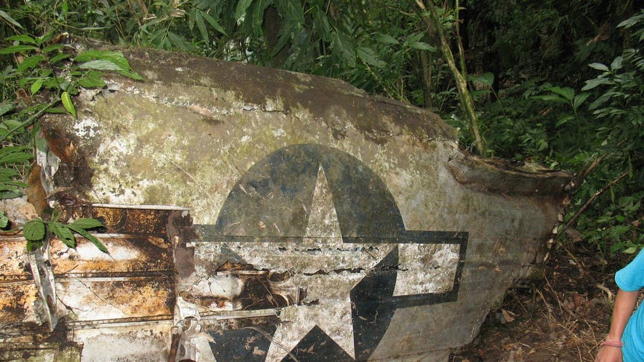 Rugged mountains yield hundreds of WWII-era plane crashes of lost