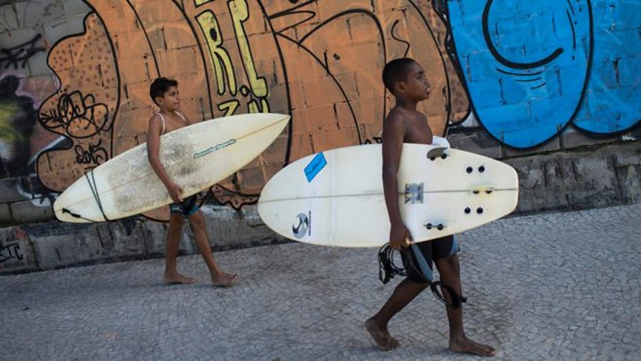 Rio's youth find an escape from the favelas through surfing