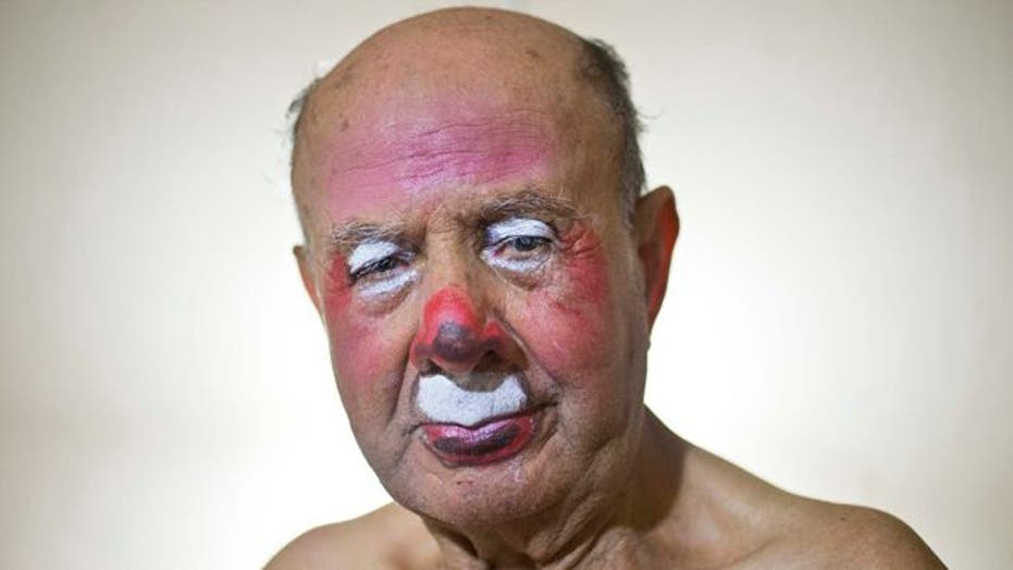 For decades, 91-year-old Pitito the clown has kept Peru smiling