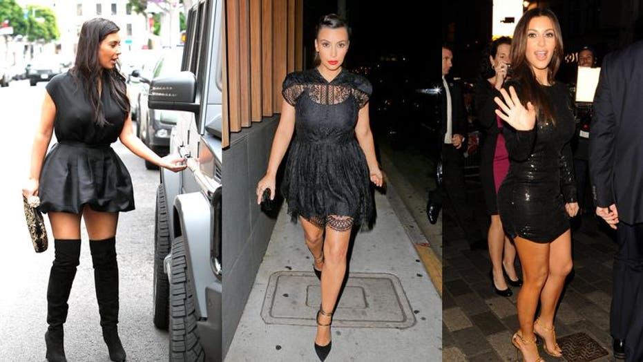 Kim Kardashian's tiniest dresses