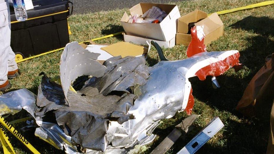 FBI photos from 9/11 attack at Pentagon