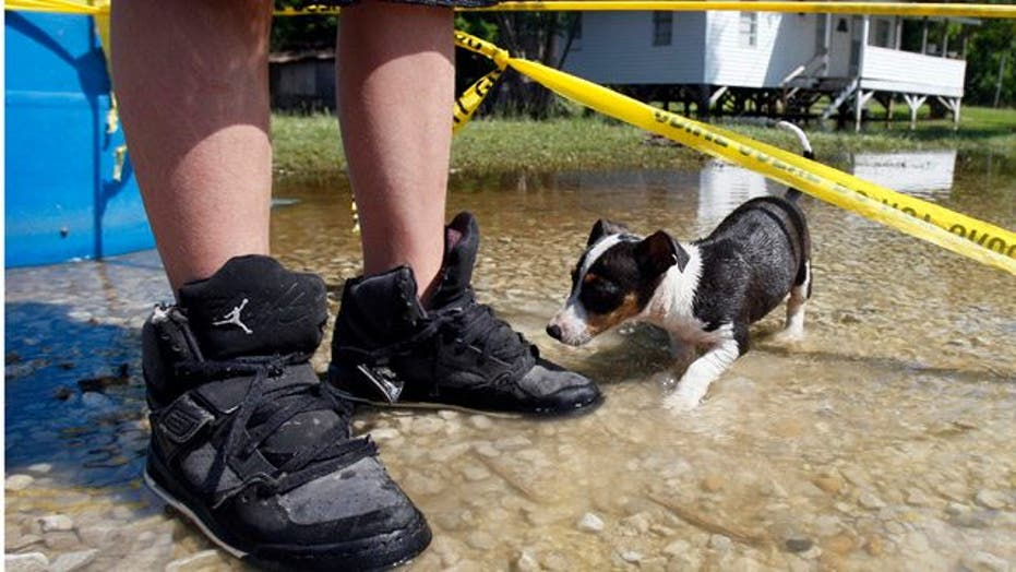 Swelling Mississippi River Devastates Homes, Farmland